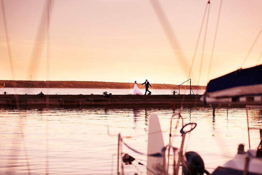 Nasza Fotografia Ślubna na Molo